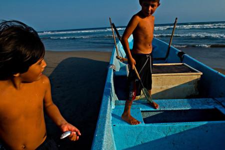 Playa Azul. Michoacán