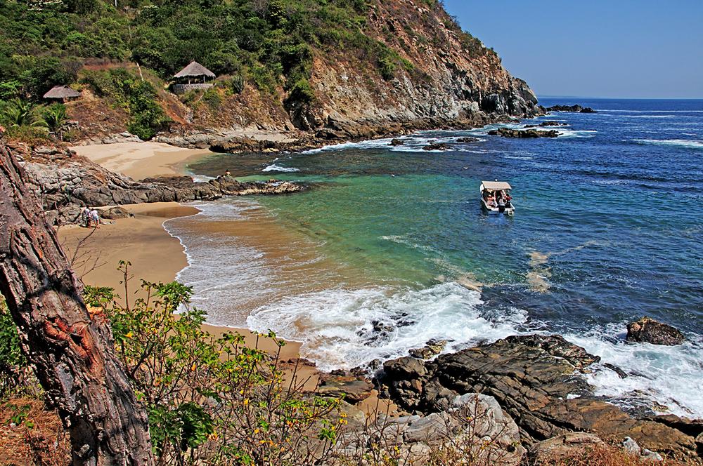 Resultado de imagen para playas en oaxaca