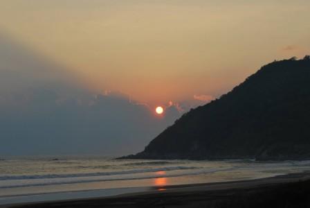 Puesta del Sol en el Pacifico Mexicano
