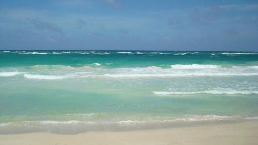 mar a solo 60 mts del terreno